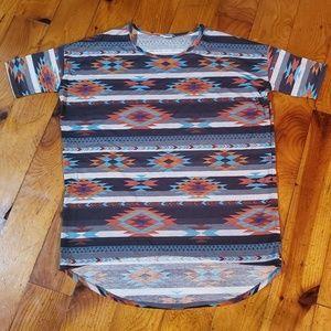 Lularoe irma Aztec western Size large L